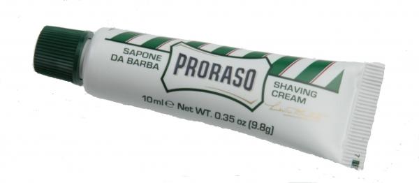 Rasiercrème in der Tube, Eucalyptus, 10 ml