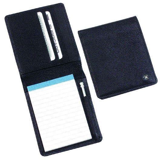 Notizmäppchen, mit Block und Micro-Stift, schwarz