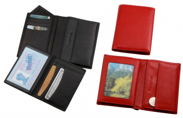 Damen-Portemonnaie, schwarz