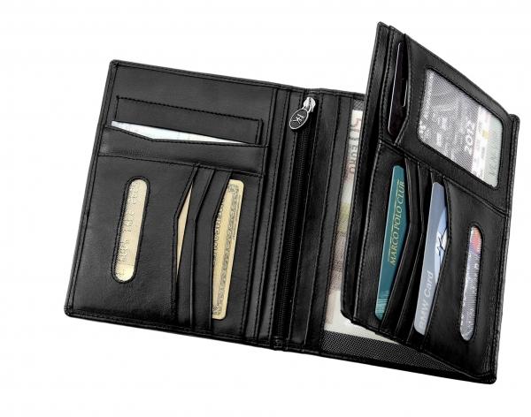 Brieftasche, schwarz
