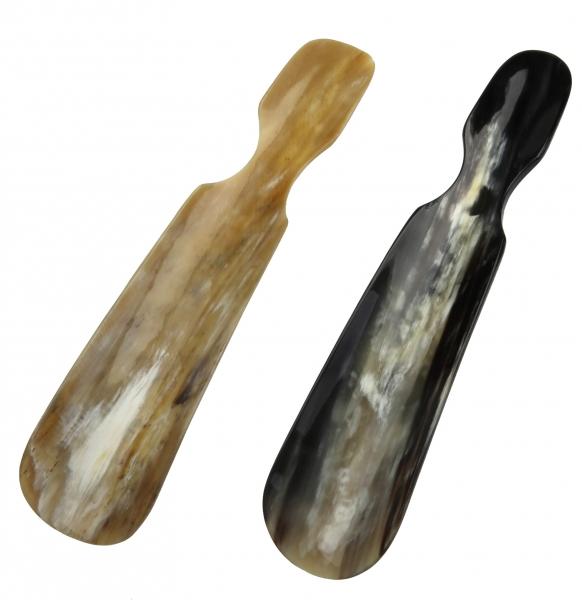 Schuhlöffel, klein, echt Horn