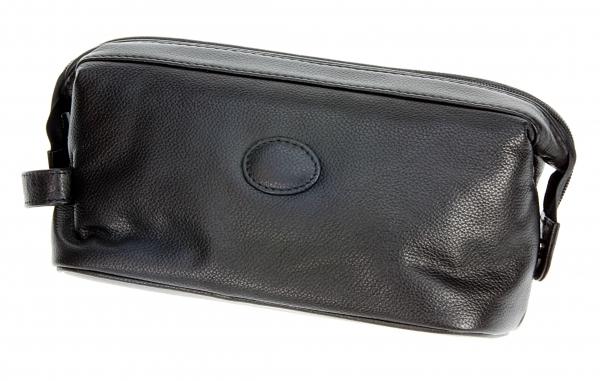 Kulturbox, kompakt: Rindleder, schwarz