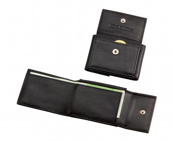 Micro-Geldbörse, schwarz