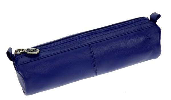 Schlamperl, Nappa-Vollrindleder, kobaltblau