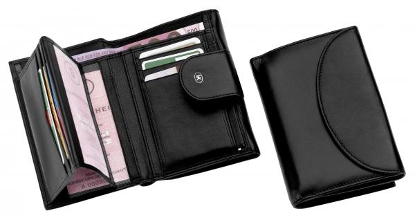Portemonnaie, schwarz