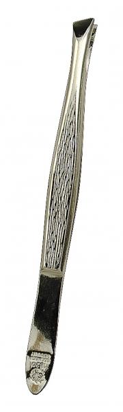 Pinzette, 80 mm, schräg